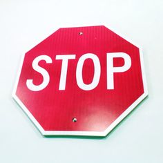 """Stop Sign Street Sign 12"""""""