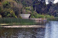 Boat House in Port Orford Oregon