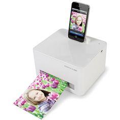 The iPhone Photo Printer - Hammacher Schlemmer