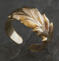 Paradise Gold Leaf Ring