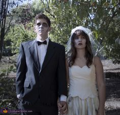 Zombie Bride and Groom Costume - 2012 Halloween Costume Contest
