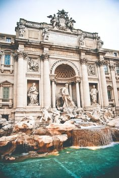 TED BAKER'S TRAVELS | The Trevi Fountain, Rome.