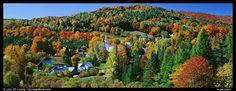 Image detail for -... Photo: Rural autumn landscape, East Topsham. Vermont, New England, USA