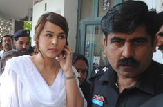 ayyan ali in white