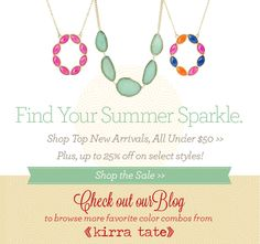 Find Your Summer Sparkle. New Kirra Tate @LaylaGrayce #laylagrayce #newsletter #kirratate