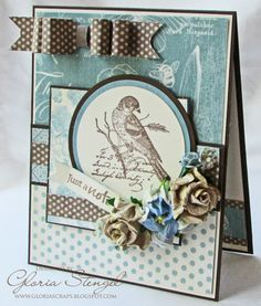 Scraps of Life - for Craft Hoarders Anonymous Challenge #6 using Graphic 45 Botanical Tea