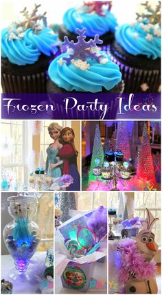Disney's Frozen girl birthday party ideas