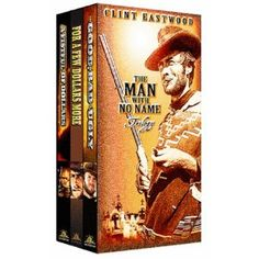 I own more Clint Eastwood movies than anyone I know. I love his spaghetti westerns. Actually, I just love Clint.