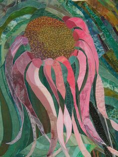 "Cone Flower, 31 x 26"", by Rosemary Claus-Gray 
