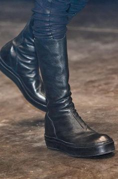 These boots were made for walking (all over me, and i would be enjoying it). Attitude, strength, confidence, and nothing contrived or unnecessary. Just kick me already!