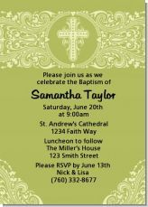 This is such a beautiful invitation and it works as a neutral invite for a baptism or a christening.