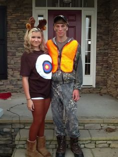 The hunter and the hunted couples costumes