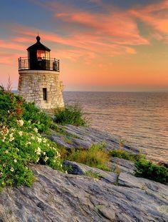 Castle Hill Lighthouse Rhode Island