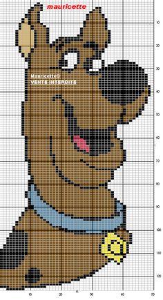Scooby Doo Cross Stitch Pattern