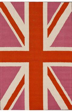 Rugs USA Homespun England Bubble Gum Rug