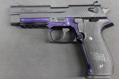 Sig Saur Mosquito Purple 22LR. and its purple and black :)