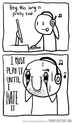 My relationship with new music…