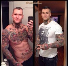 #tatts #tattoos #guy #shirtless