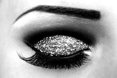 Sparkly eye makeup #beauty #fab #style