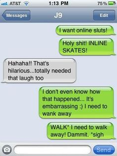 ha! funny texts