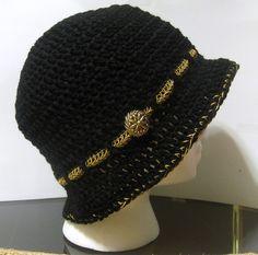 #crochet cloche hat