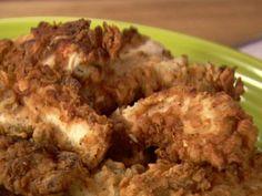 Crispy Chicken Strips Recipe : Ree Drummond : Food Network