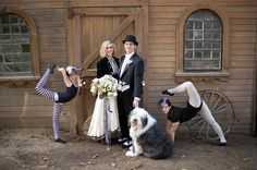An entire wedding inspired by THE NIGHT CIRCUS!