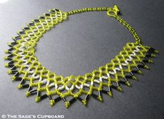 Free Beading Tutorial: Seed Bead Netting Stitch featured in Bead-Patterns.com Newsletter!