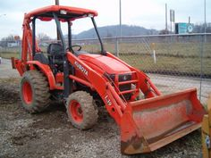 Kubota Tractor with Backhoe
