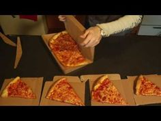 GreenBox: Pizza Box Turns into Plates & Storage Unit. This is amazing.