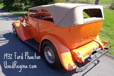 1932 Fort Phaeton - if old isn't old enough, take a look at this great Phaeton #classiccars | UsedRegina.com