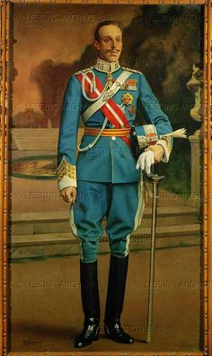 Juan Frances y Mexia, Alfonso XIII,King of Spain (1886-1941)