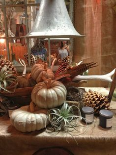 greige: interior design ideas and inspiration for the transitional home #fall #pumpkins