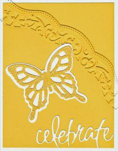 A warm & sunny card, Spellbinders & Penny Black dies