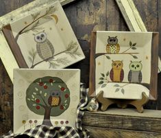 Owl Plates Pinned by www.myowlbarn.com