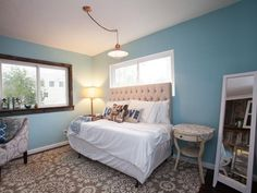 As seen on Flipping the Block...Curtis and Amanda: Guest Room, After
