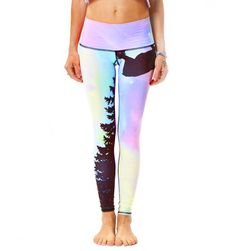 light hot, recycl plastic, plastic bottles, hot yoga, hot pants, northern lights, teeki, yoga pants, leggings