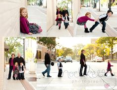 cute urban family session