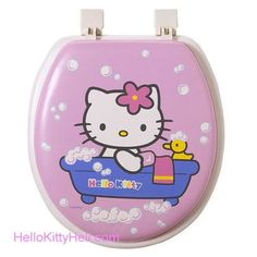 If I had my own bathroom, this would be my toilet seat. It would go nicely with my My Little Pony shower curtain.