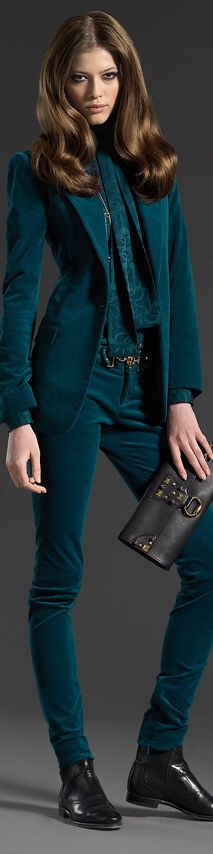 execut suit, woman fashion, fashion rock, fall outfits, chic style, fashion favorit