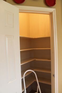 pantry reconfig