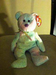 """""""Groovy"""" Bear TY Beanie Baby"""