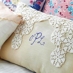 This could be a neat use for all those old doilies my Grandma made