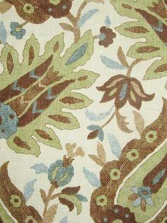 PRATT SPA BLUE  Fabric