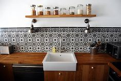 Matieres carrelage on pinterest cement tiles patricia - Renovation credence carrelage ...