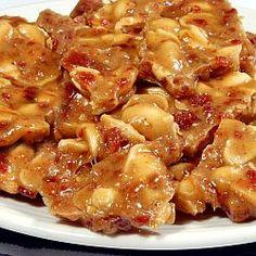 Bacon. Peanut. Brittle. YesYesYes