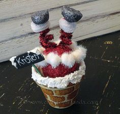How to make Santa in the chimney