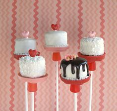These would be perfect displayed on The Pastry Pedestal™...www.thepastrypedestal.com