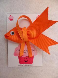 Goldfish Hairbow