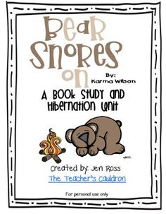 Bear Snores On hibernation pack updated